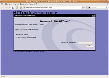 siti interi ubuntu